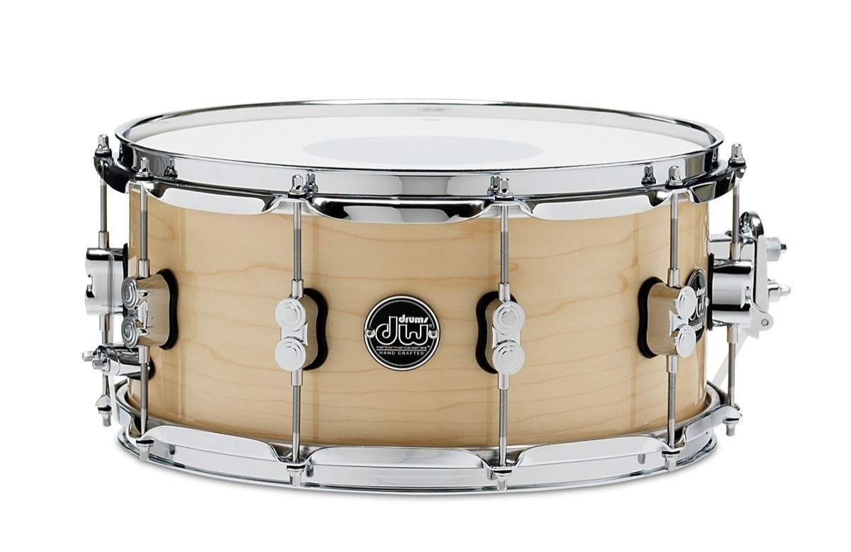 DW Performance Series Snare Drum - 6.5'' x 14'' Natural Lacquer