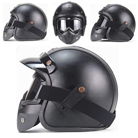 Casco Cross Patinete Electrico Helmet with To Block Rain ...