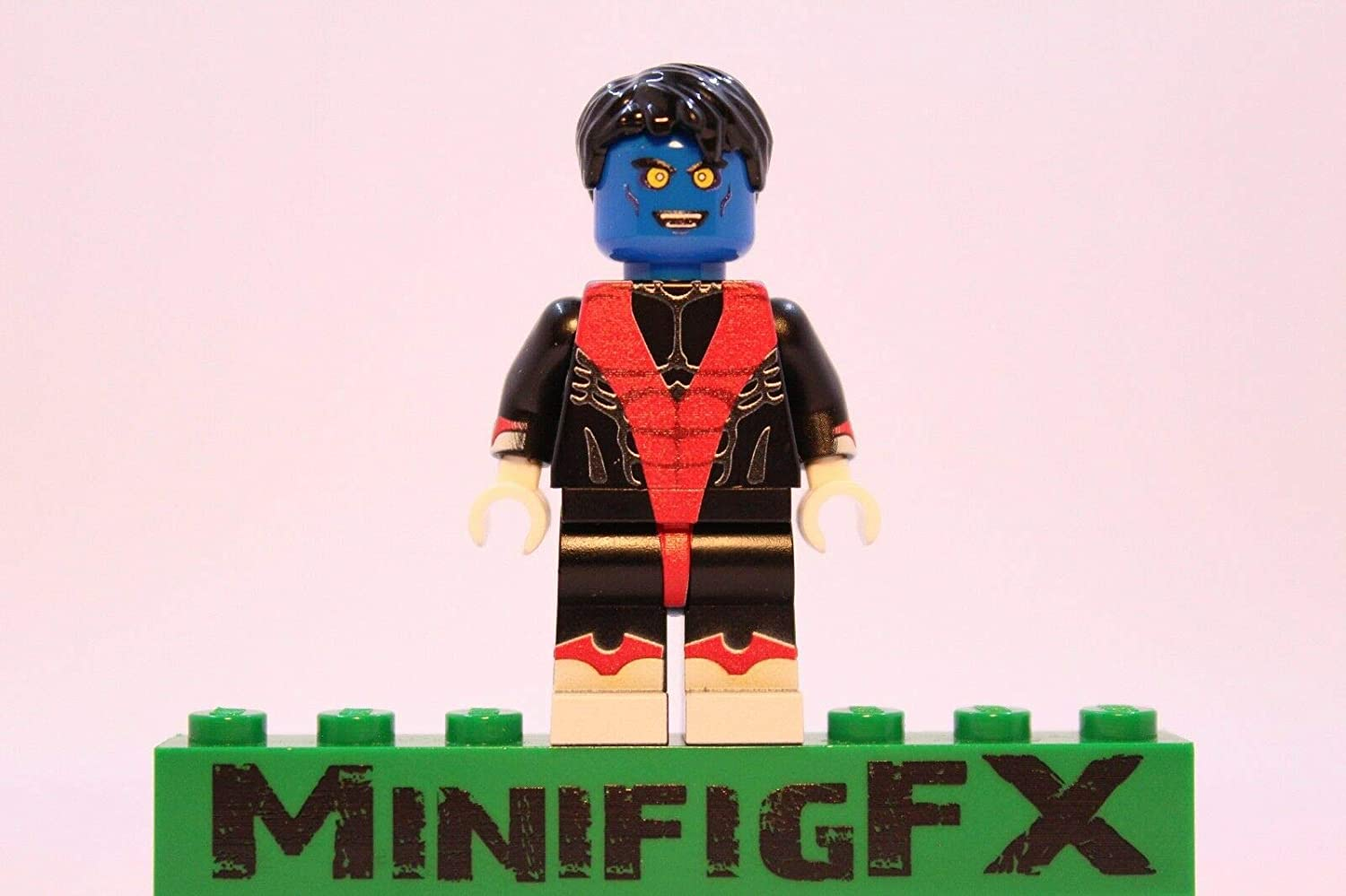 LEGO Nightcrawler Minifig Marvel X-Men Mutant Kurt Wagner