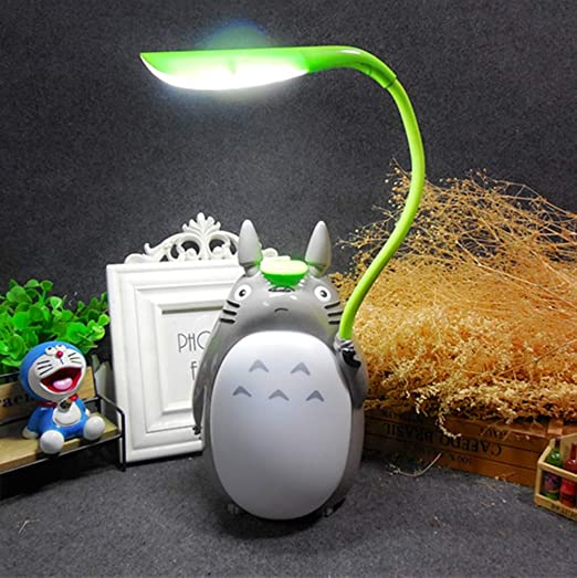 WanVi Totoro de Dibujos Animados USB Lámpara de Mesa Recargable ...