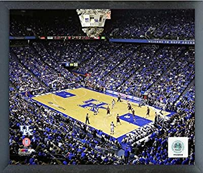 "Rupp Arena Kentucky Wildcats NCAA Photo (Size: 17"" x 21"") Framed"