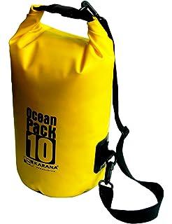 Karana Ocean Dry Travel Pack Waterproof Rucksack Kayak Bag Green 5L 5 Litre