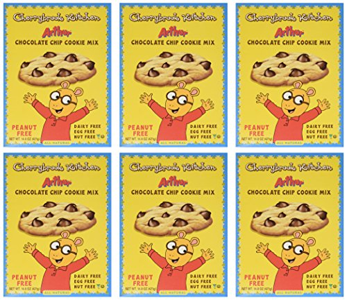 - Cherrybrook Kitchen Arthur Chocolate Chip Cookie Mix, 14.8 oz (Pack of 6)