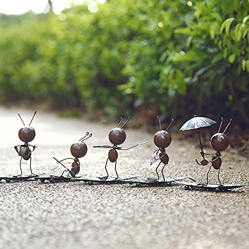 Cute Ant Leaf Craft Home Decor