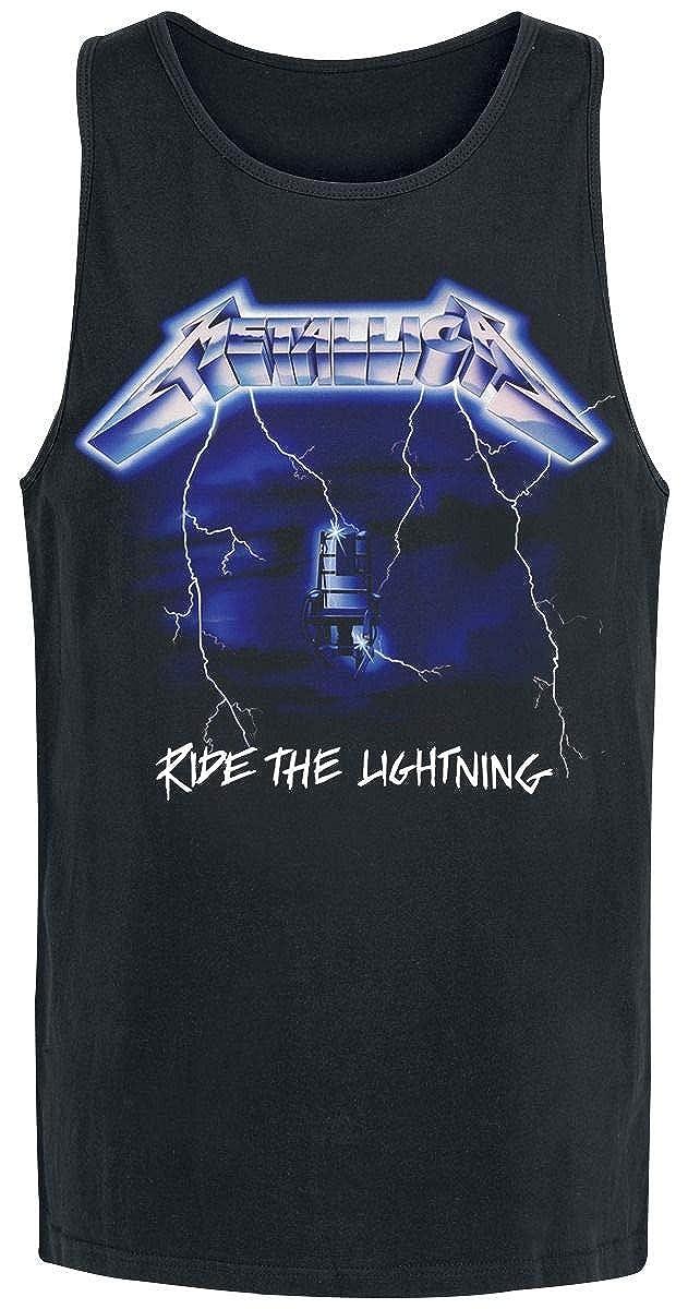 Metallica Ride The Lightning Tanktop Black