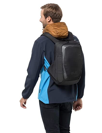 "e4b791179c5 Jack Wolfskin Power On 18 Liter Anti-Theft Messenger Bag with USB Port,  14"""