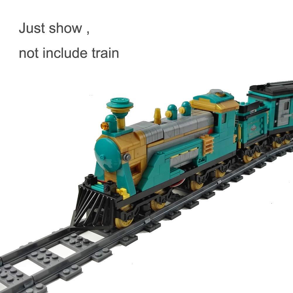 86 PCS AUSINI Railroad Train Tracks Building Block Toys Set Luxury Track