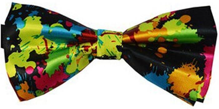 Q4 Acabado Seda Pajarita moda. Dicky-elástico pre atado para bodas ...