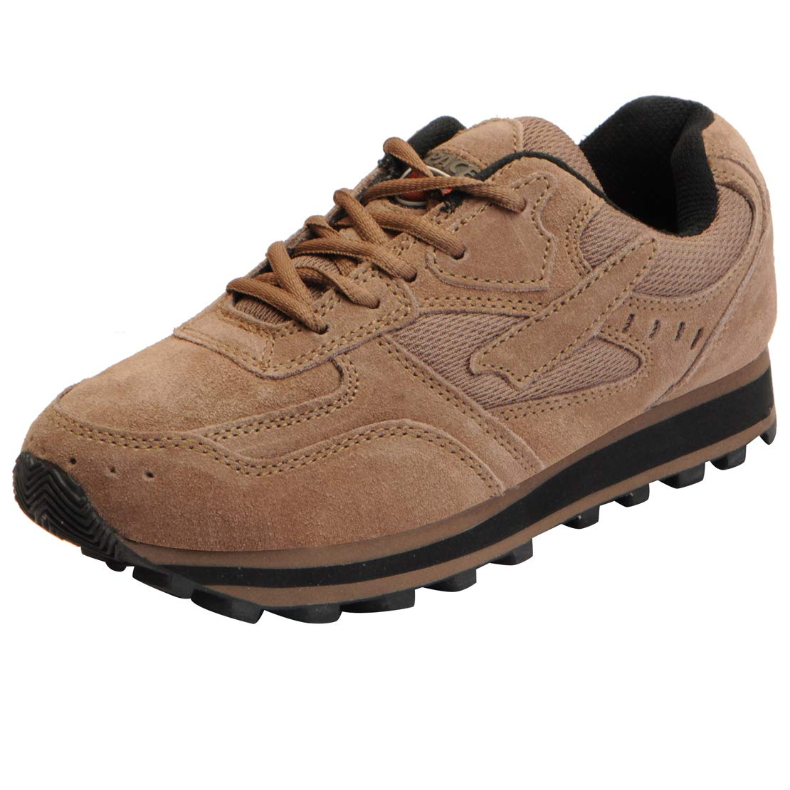 d2de965b31 Lakhani Pace Men's Suede Leather Sports Jogging Shoes: Buy Online at Low  Prices in India - Amazon.in