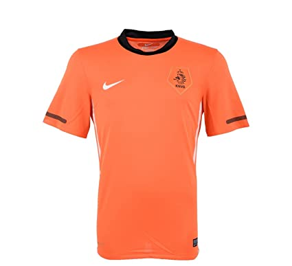 5f6da90633e Amazon.com   Nike Holland Home Jersey 10 11 Orange ...   Sports ...