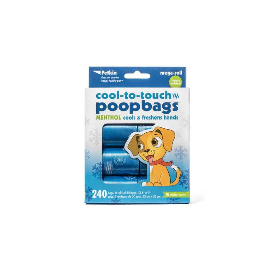 Petkin Cool-to-Touch Poopbags 240 Count