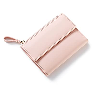 Bikifree Women Zipper Wallet Female Fashion Lady Wallet Short Solid Color Change Purse Hot Female Clutch