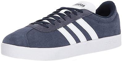 Buy Adidas Men's Vl Court 2.0 Sneaker, Collegiate NavyWhite