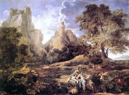Nicolas Poussin Landscape with Polyphemus - 21.05