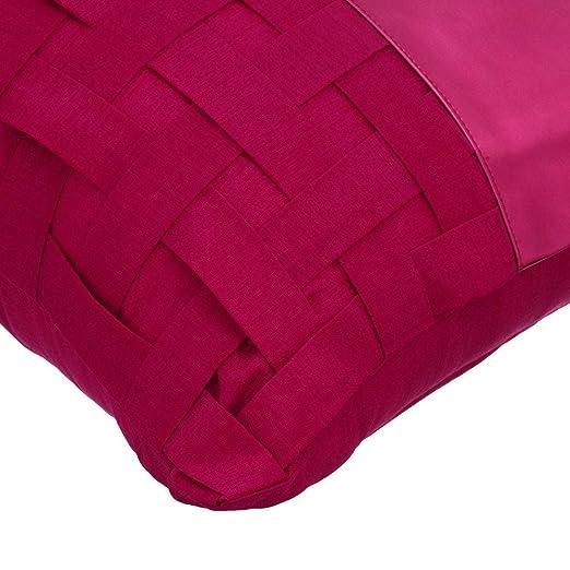 Amazon.com: The HomeCentric - Funda de almohada de piel ...