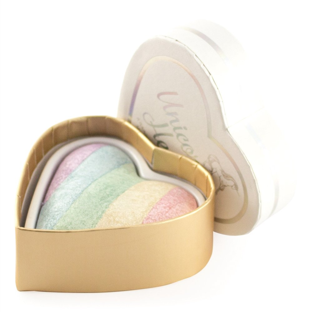 Maquillaje Revolution I Heart Maquillaje High Lighter–Unicornios Heart I Heart Makeup 5029066102355