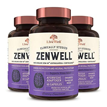 Amazon com: ZenWell - Organic Ashwagandha with KSM-66