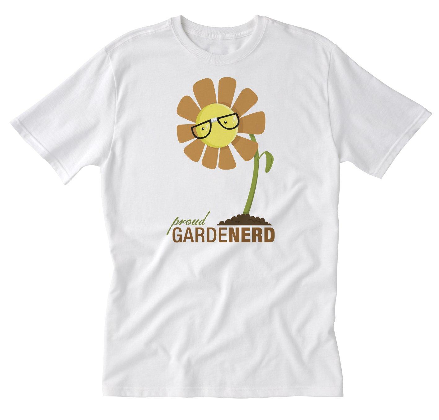 Barn Eleven, GardeNerd White Large T-Shirt