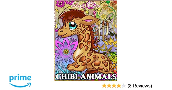 Amazon Com Chibi Animals A Great Coloring Book With Cute