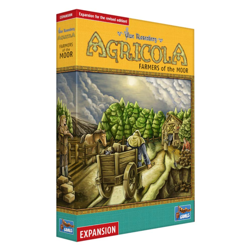 Revised Edition Farmers of The Moor Expansion Lookout Games 60753 Agricola