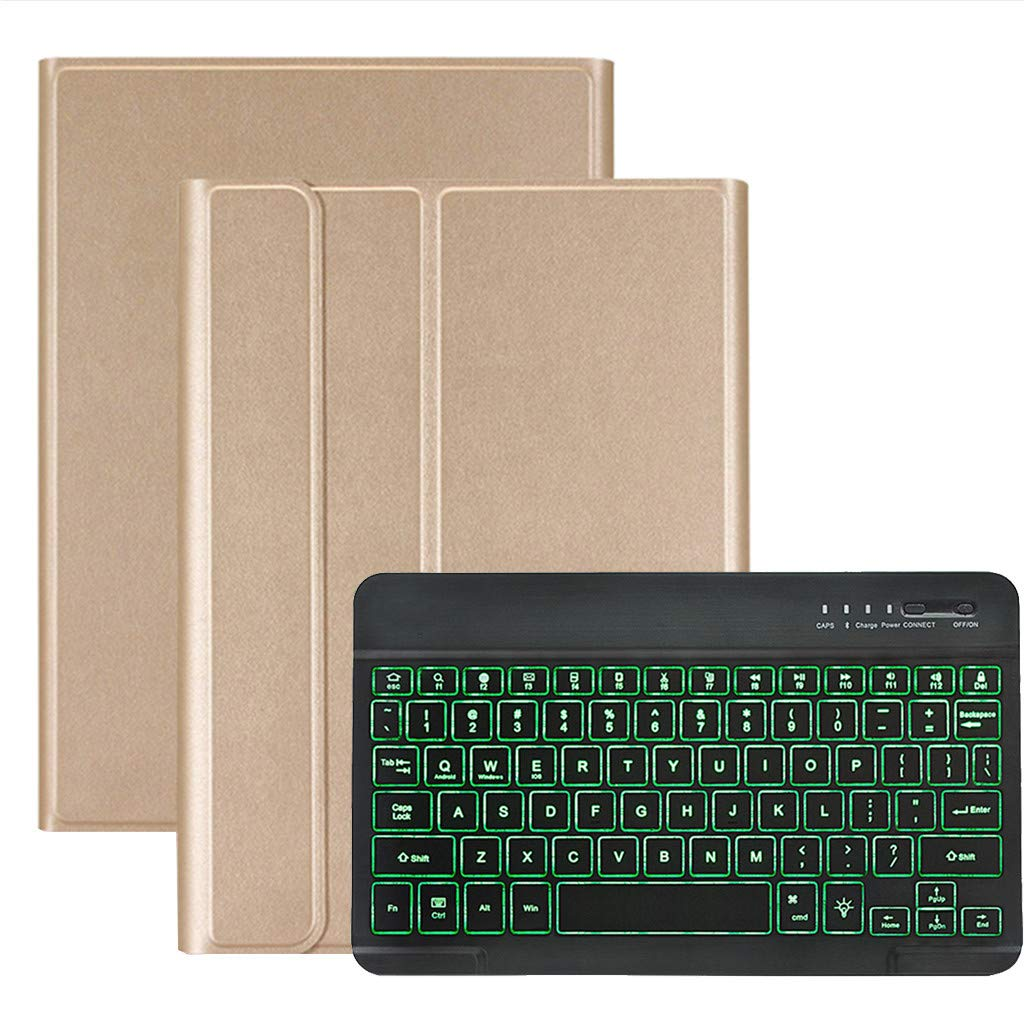 1KTon Removable Backlit Bluetooth Keyboard Cover For Samsung Galaxy Tab A 10.1 T510 by 1KTon