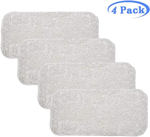 New Set of 5 Microfiber Steam MOP Floor Washable Replacement Pads X 5