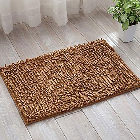 Lnxd 80 X 120 Cm Badezimmer Matten große weiche Chenille Teppich ...