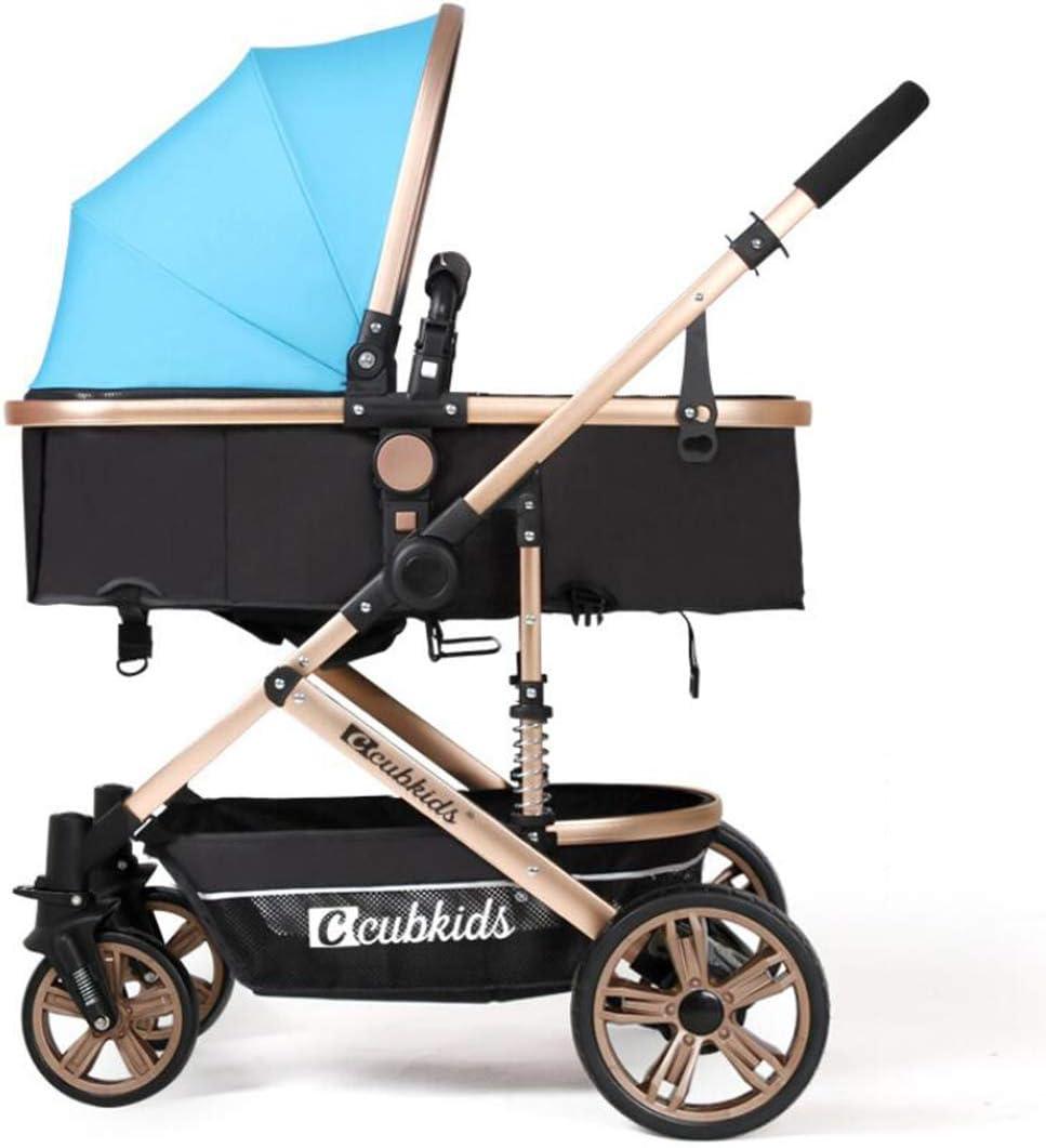 Cochecito de bebé, Silla de Paseo para niños Plegable con arnés de ...
