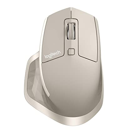 Logitech MX Master Wireless Mouse, Stone (910-004956)