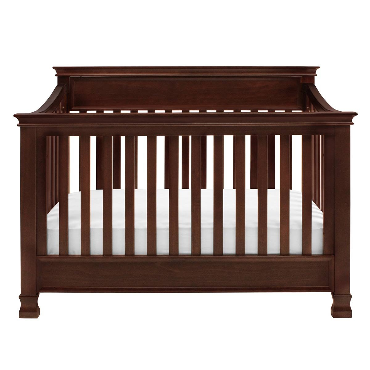 Full Size Conversion Kit Bed Rails for Million Dollar Baby Ashbury, Foothill & Louis Cribs - Espresso by Grow-with-Me Crib Conversion Kits (Image #6)