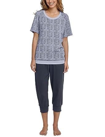 2ab39eee17 Schiesser Damen Pyjama Kurz 160980: Amazon.de: Bekleidung