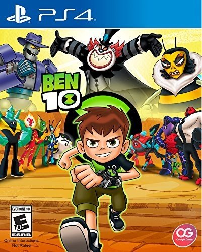 Amazon Com Ben 10 Playstation Edition Ui Entertainment Video