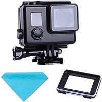 Suptig Vervanging Waterdichte Case Beschermende Zwarte Behuizing Touch behuizing Compatibel voor GoPro Hero 4 Hero 3…
