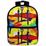 Africa Women Retro Vintage Style Childrens School Backpacks Casual Daypack Travel Outdoor For Boys And Girls