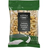 Genoa Foods Cashews Roasted and Unsalted, 300 g, Cashews Roasted and Unsalted