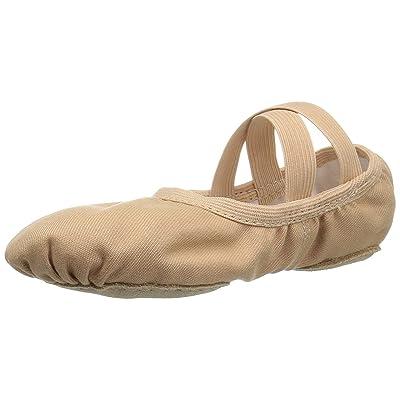 Bloch Dance Girls' Performa Stretch Canvas Split Sole Ballet Shoe/Slipper   Flats