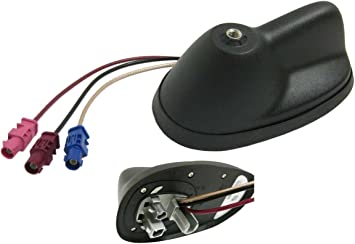 Mini Cooper antena base w/GPS/SAT/azul OEM Gen2 R55 R56