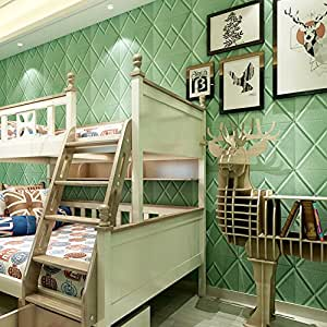 JiaMeng PE Espuma 3D Wallpaper DIY Wall Stickers en Relieve de ...