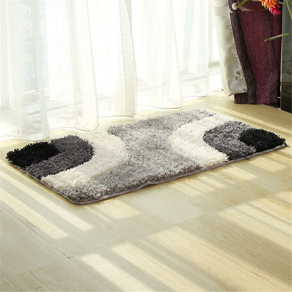 Noun alfombras de Vinilo Alfombrilla Rectangular Alfombrilla Antideslizante Absorbente de Agua para ba/ño dom/éstico 45x65cm