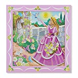 Melissa & Doug Peel and Press Sticker by Number Activity Kit: Princess