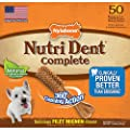 Nylabone Nutri Dent Complete Dog Treat Bones for Medium Dogs up to 35 Pounds from Nylabone