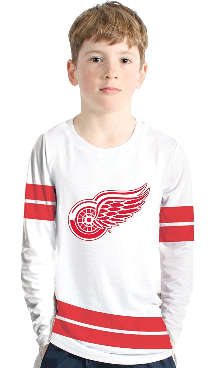 NHL Authentic Scrimmage Youth Shirt - Detroit Red Wings Levelwear