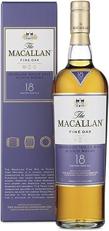 Macallan 18Y Fine Oak Whisky Escocés - 700 ml