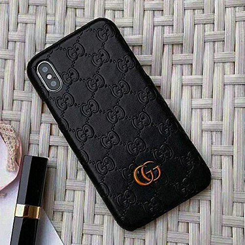 iPhone X Case, Black Premium PU Luxury Stylish Designer Fashion Leather Cover Case for iPhone X from Archshield