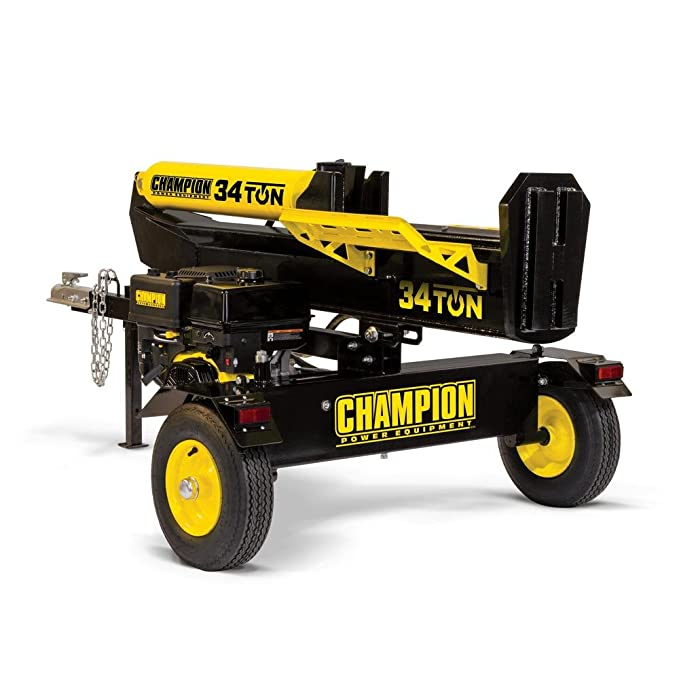 champion 34 ton log splitter reviews