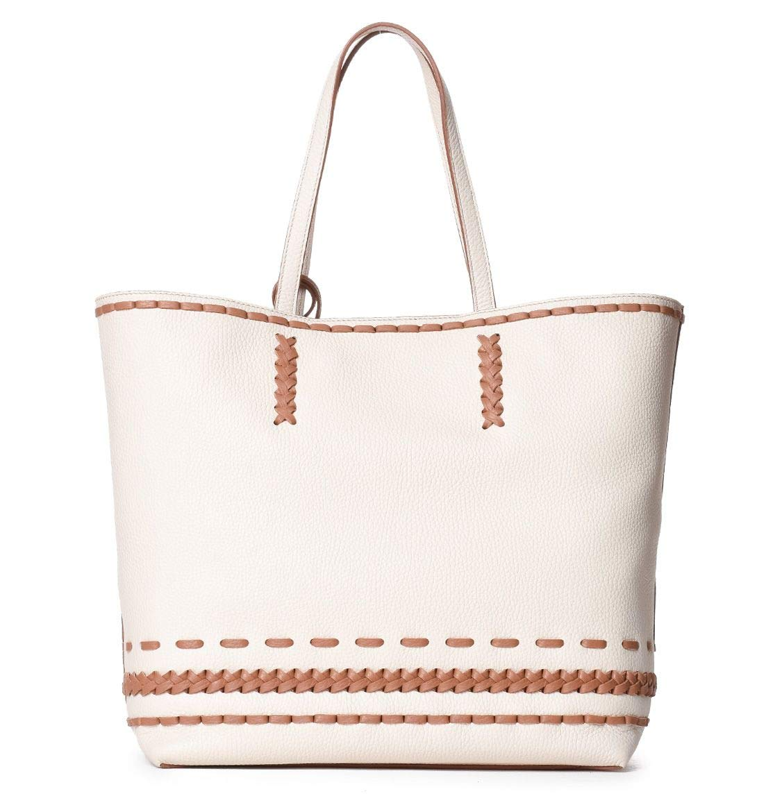 Tods Womens Xbwamwai300rib1z08 Beige Leather Tote