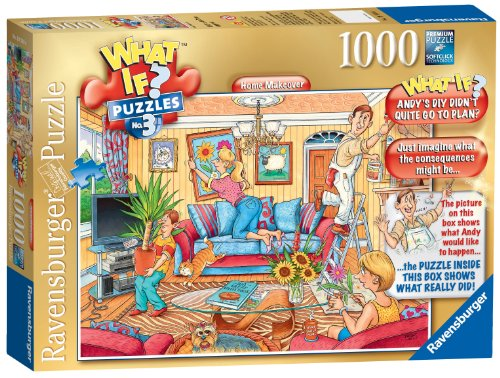 1000 Piece What If? No3 Home Makeover Puzzle