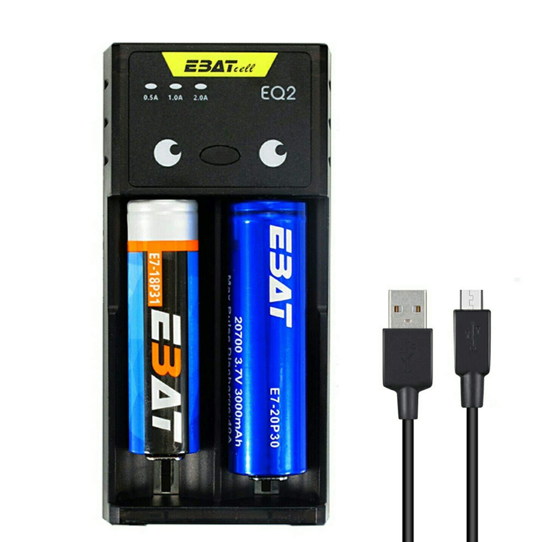 amazon in buy ebat eq2 smart battery charger for li ion ni mh ni cd rh amazon in