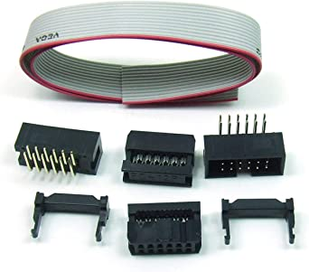 IDC Verbindungskabel 14 polig//way 30 cm Flachbandkabel Kabel Cable Ribbon #A529