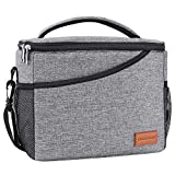 Cooler Bag 40-Can Large with 2 Ice Packs/12-Can,Insulated Soft Sided Cooler Bag for Outdoor Travel Hiking Beach Picnic BBQ Party